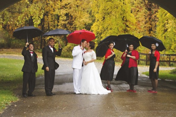 Kiša na dan vjenčanja