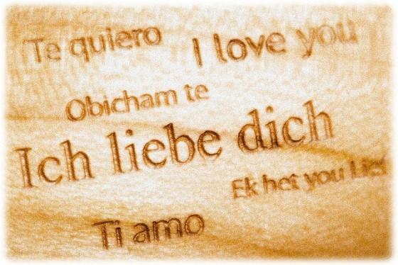 Volim te na svim jezicima svijeta – Eu te amo